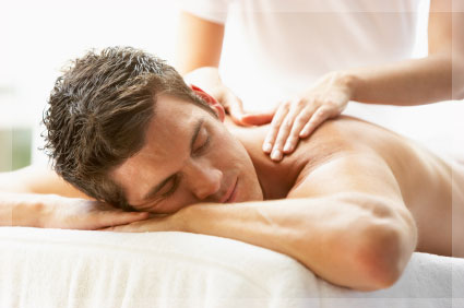 example of a massage therapy visit